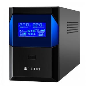 克雷士UPS不间断电源S1000VA600W家用办公电脑稳压 后备式UPS电源 停电应急备用电源