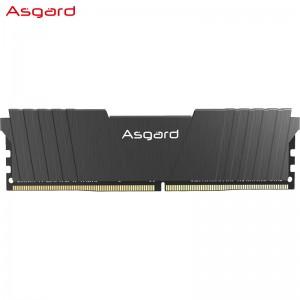 阿斯加特(Asgard)16GB 2666频率 DDR4 台式机内存条 洛极51℃灰-游戏利器/电竞超频/T2