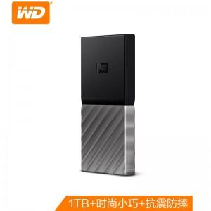 西部数据(WD) 1TB Type-C 移动固态硬盘(PSSD)My Passport SSD 便携 兼容Mac