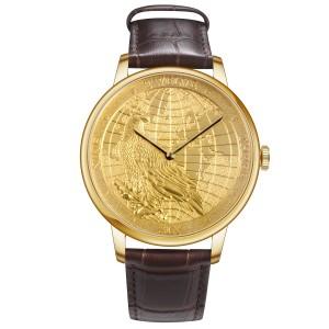 """CHIYODA""""黄金""""手表奢华黄金"""