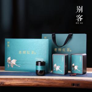 【送礼精选】 云南正宗老树红茶  特级 150g*2罐  礼盒