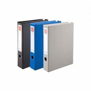 齐心 A1297 办公必备磁扣式PVC档案盒 A4 55MM