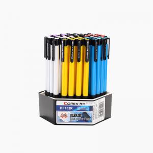 齐心BP102R超值圆珠笔0.7mm 匹配笔芯R976