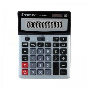齐心 C-1232M 计算器 大台 全能办公