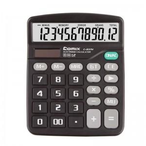 齐心 C-837H 计算器 中台 超省钱