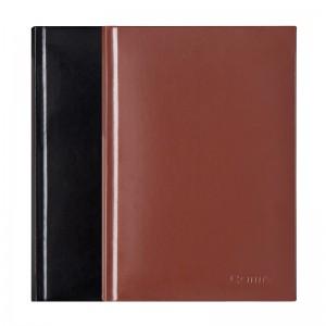 齐心 C5803 皮面笔记本 25K 146张