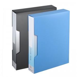 齐心 NF80AK-1 办公必备大容量资料册 A4 80袋外壳