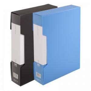 齐心 PF100AK-1 超省钱大容量资料册 A4 100袋外壳