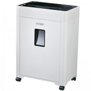 齐心 S410 高保密碎纸机 2×6mm/6张纸/19L/单入口/续航10分钟
