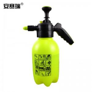 SAFEWARE 安赛瑞 洒水壶浇水壶-材质:塑料,加长嘴,容量:2L,重量:400g,颜色:黄色,尺寸:36*11cm
