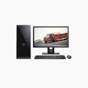 戴尔(DELL)灵越3670 高性能 台式电脑整机(九代i5-9400 8G 256GSSD 1T 2G独显 WIFI 蓝牙 三年上门)19.5英寸