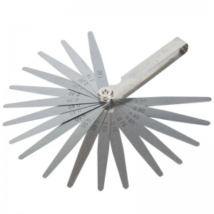 STANLEY/史丹利 20件装公制塞尺0.05-1mm 36-162-1-23 塞尺