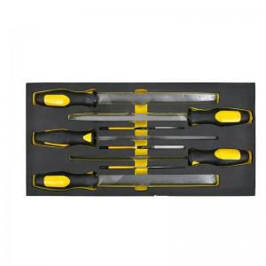 STANLEY/史丹利 EVA工具托组套-8件锉刀 90-038-23 锉