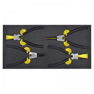 STANLEY/史丹利 EVA工具托组套-4件卡簧钳 90-069-23 卡簧钳