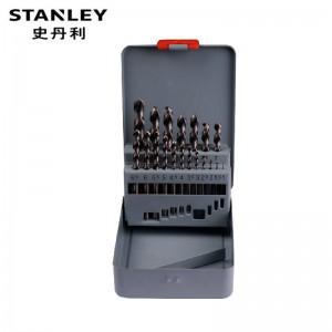 STANLEY/史丹利 19支装高速钢麻花钻头组套 95-233-23 钻头