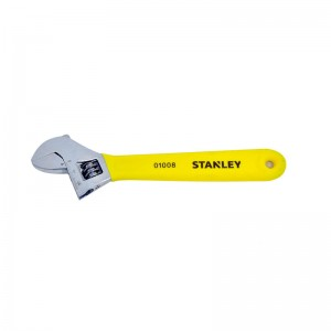 "STANLEY/史丹利 B系列沾塑柄活动扳手8""/200mm STAD01008-23 活动扳手"