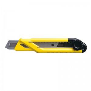 STANLEY/史丹利 旋钮双色柄美工刀18mm(3刀片) STHT10268-8-23 割刀