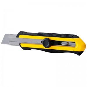 STANLEY/史丹利 DYNAGRIP旋钮双色柄美工刀25mm STHT10425-8-23 割刀