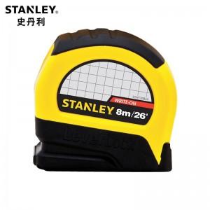 STANLEY/史丹利 LeverLock公英制卷尺8m/26' STHT30824-23 卷尺