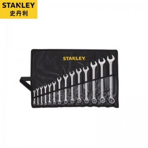 STANLEY/史丹利  14件B系列两用扳手套装8-24mm  STMT80946-8-23  扳手套装