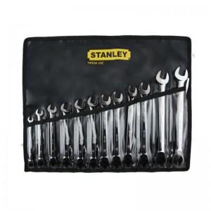 STANLEY/史丹利  12件公制棘开两用快扳套装  TK924-23C  扳手套装