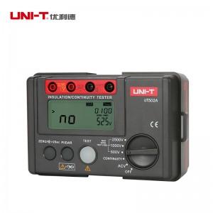 UNI-T优利德 绝缘电阻测试仪 UT502A 18cm*15cm*9cm