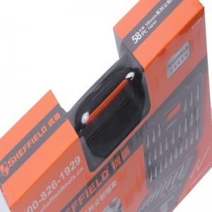 钢盾 S010003 58件套10mm系列公制组套
