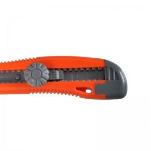 钢盾 S067011 18mm塑柄金属护套旋钮美工刀
